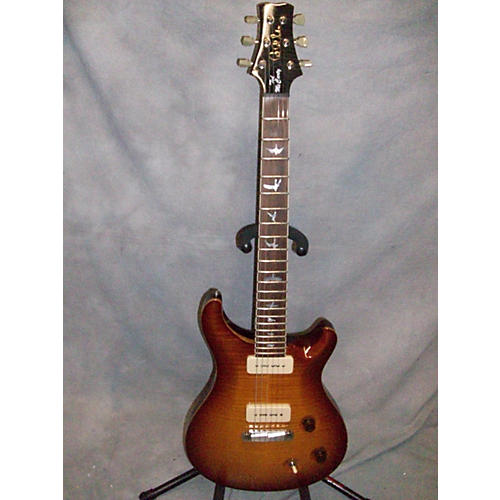 PRS TED MCCARTY TMDC245 SOAPBAR 10 TOP Solid Body Electric Guitar-thumbnail
