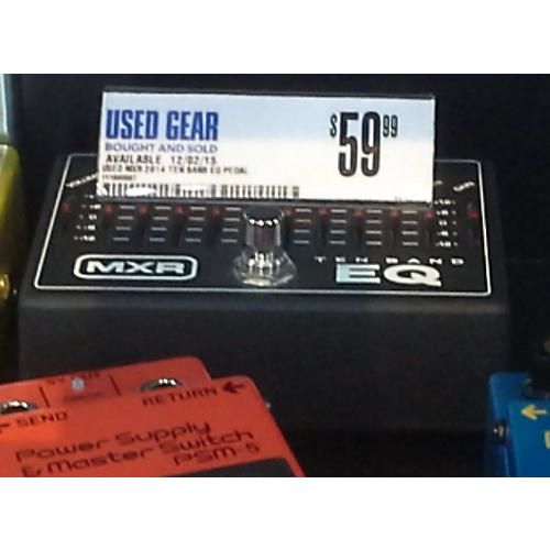 MXR TEN BANB EQ Pedal-thumbnail
