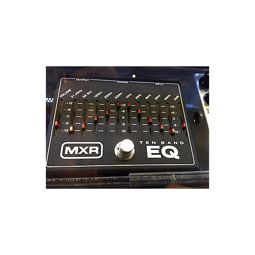 MXR TEN BAND EQ Black Pedal-thumbnail