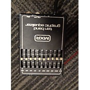 MXR TEN BAND GRAPHIC EQUALIZER Pedal