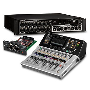 Yamaha TF1 16-Ch Digital Mixer with Tio1608-D Dante Stage Box and Expansion... by Yamaha