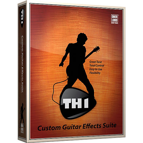 Overloud TH1 Custom Guitar Effects Suite-thumbnail