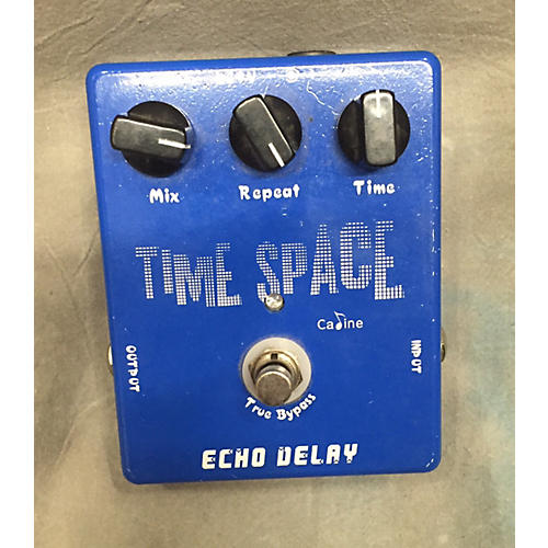 In Store Used TIME SPACE Bass Effect Pedal