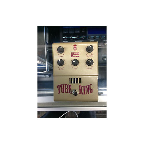 Ibanez TK999US Tube King Overdrive Distortion Brown Effect Pedal-thumbnail