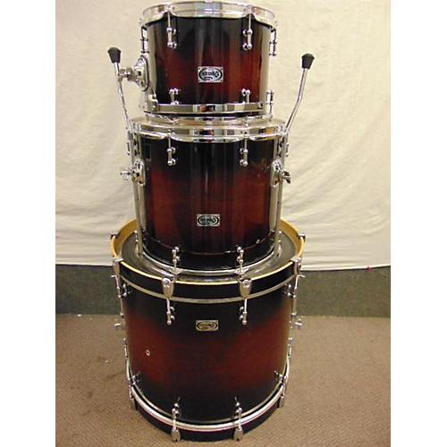 used spaun tl series drum kit tobacco burst guitar center. Black Bedroom Furniture Sets. Home Design Ideas