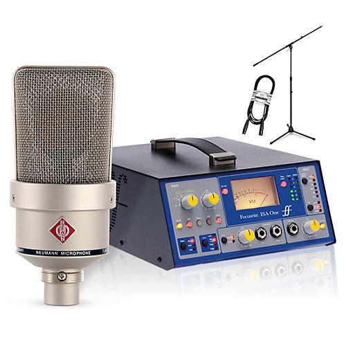 Neumann TLM 103 Nickel with Focusrite ISAOne Package-thumbnail