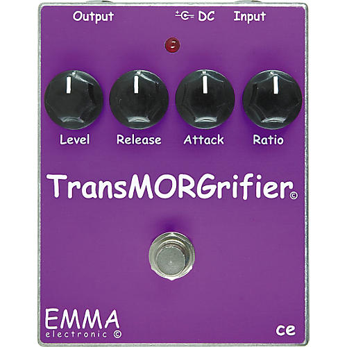 Emma Electronic TM-1 TransMORGrifier Compressor Guitar Effects Pedal