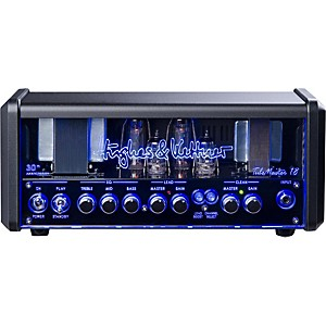 Hughes and Kettner TM18H Anniversary TubeMeister Tube Guitar Head with FREE F...