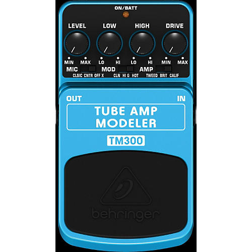 Behringer TM300 Tube Amp Modeler Effects Pedal