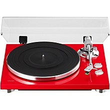 TEAC TN-300 Analog Record Player with Phono EQ and USB Level 1 Red