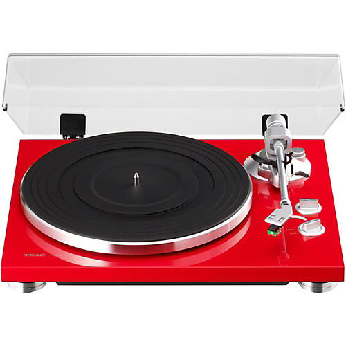 open box teac tn 300 analog record player with phono eq and usb guitar center. Black Bedroom Furniture Sets. Home Design Ideas