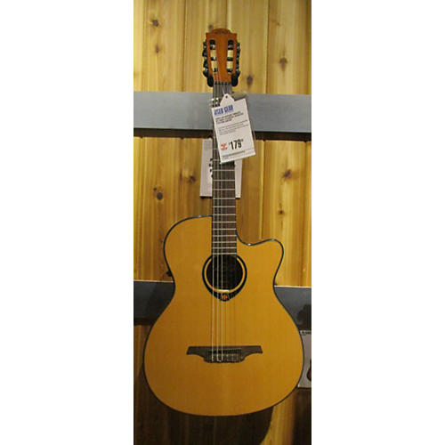 Lag Guitars TN66ACE Classical Acoustic Electric Guitar-thumbnail