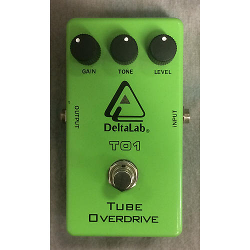 Deltalab TO1 Tube Overdrive Effect Pedal-thumbnail