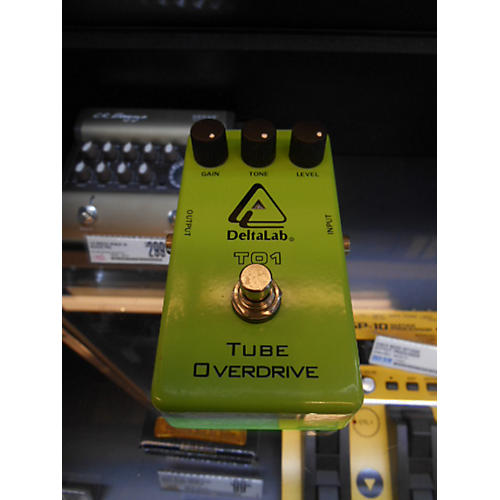 Deltalab TO1 Tube Overdrive LIME Effect Pedal