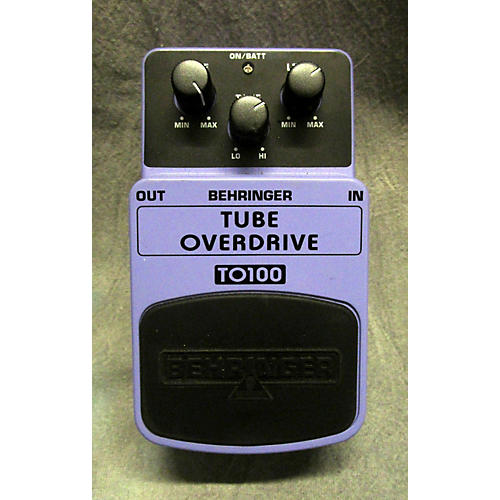 Behringer TO100 Tube Overdrive Effect Pedal