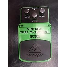 Behringer TO800 Vintage Tube Overdrive Effect Pedal