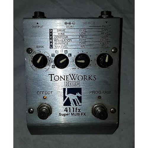 used korg toneworks 411fx effect processor guitar center. Black Bedroom Furniture Sets. Home Design Ideas