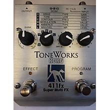 Korg TONEWORKS 411FX SUPER MULTI FX Effect Processor