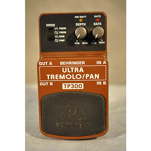 Behringer TP300 Ultra Tremolo/Pan Effect Pedal-thumbnail
