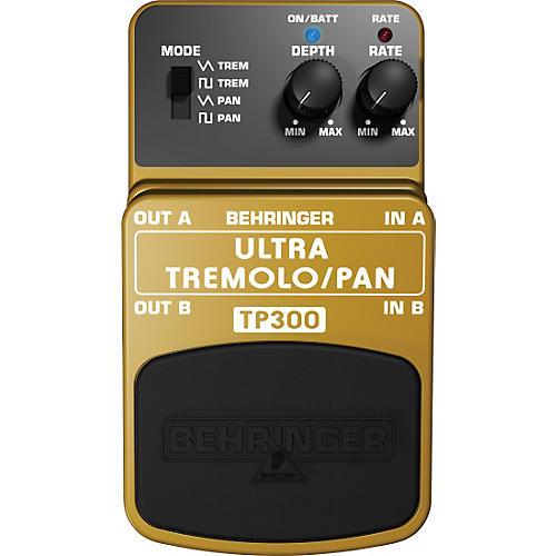 Behringer TP300 Ultra Tremolo/Pan Effects Pedal