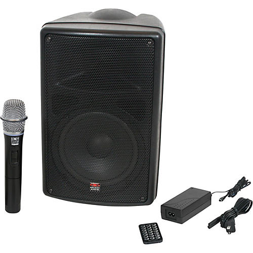 Galaxy Audio TQ8-40H0N Traveler Quest Portable PA With One Receiver And One Handheld Microphone