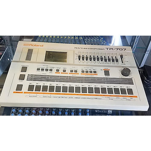 Roland TR-707 RHYTHM COMPOSER Production Controller