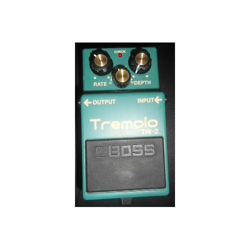 Boss TR2 Tremolo Green Effect Pedal