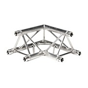 GLOBAL TRUSS TR4088UD 1.64 Ft. (.5 M) 2-Way 90-Degree Up/Down Corner Triangle Truss