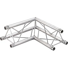GLOBAL TRUSS TR96112-21 1.64 Ft. (.5 M) 2-Way 90-Degree Up/Down Corner Apex Triangle Truss Level 1