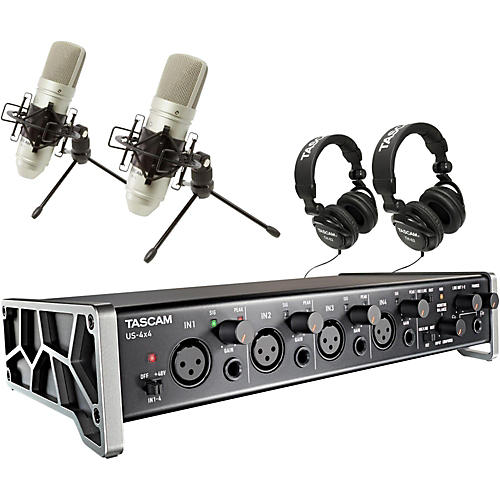 Tascam TRACKPACK 4x4 Recording Package-thumbnail