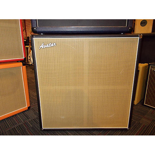 Avatar TRADITIONAL G412 Guitar Cabinet Black