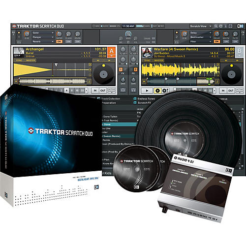 Native Instruments TRAKTOR SCRATCH DUO DJ Software/Hardware Package-thumbnail
