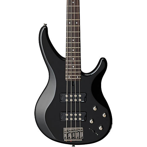 Yamaha TRBX304 4-String Electric Bass Black Rosewood Fretboard