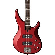 TRBX304 4-String Electric Bass Candy Apple Red Rosewood Fretboard