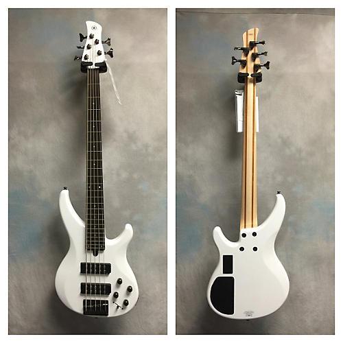 Yamaha TRBX305 White Electric Bass Guitar