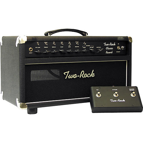Two Rock TRCR50HD 50W Classic Reverb Tube Guitar Amp Head