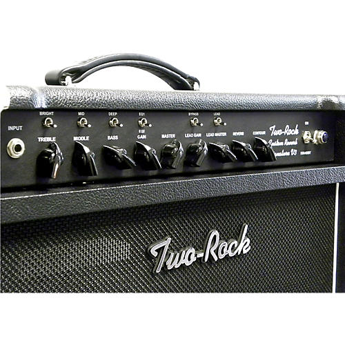 Two Rock TRCU50CMTR Custom Reverb v3 TR 50W Tube Guitar Combo Amp Black