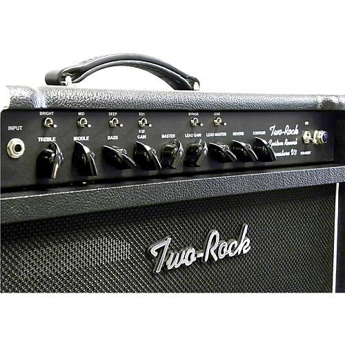 Two Rock TRCU50CMTR Custom Reverb v3 TR 50W Tube Guitar Combo Amp-thumbnail