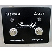 Swart TREMOLO FOOTSWITCH Effect Pedal