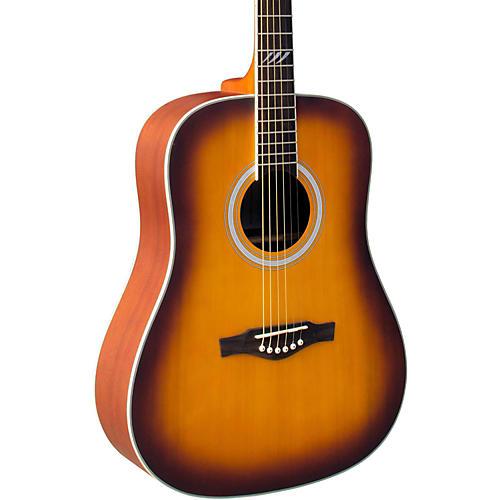 EKO TRI Series Dreadnought Acoustic Guitar-thumbnail