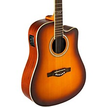 EKO TRI Series Dreadnought Cutaway Acoustic-Electric Guitar