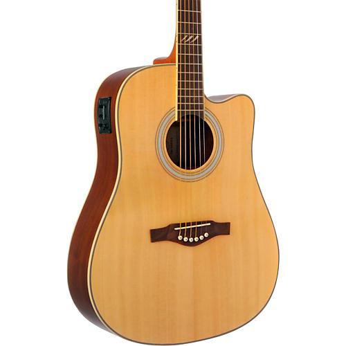 EKO TRI Series Dreadnought Cutaway Acoustic-Electric Guitar