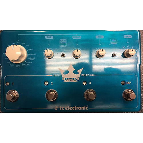 used tc electronic triple delay flashback effect pedal guitar center. Black Bedroom Furniture Sets. Home Design Ideas