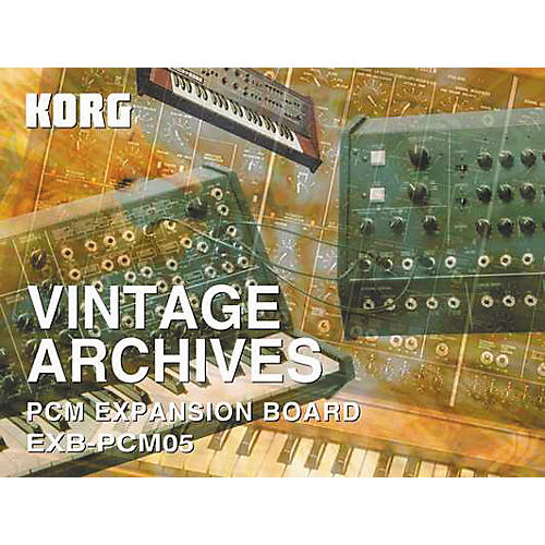 Korg TRITON EXB-PCM05 Vintage Archives Expansion Card