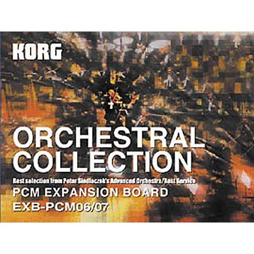Korg TRITON EXB-PCM06/07 Orchestral Collection Set-thumbnail