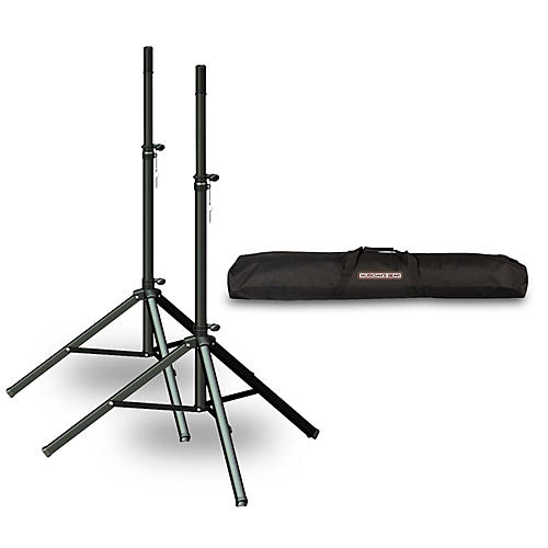 Ultimate Support TS-70 Speaker Stand 2-Pack with Musicians Gear Speaker Stand Bag
