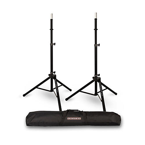Ultimate Support TS-85 Speaker Stand 2-Pack with Musicians Gear Speaker Stand Bag-thumbnail