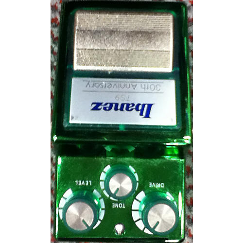 Ibanez TS930th 30th Anniversary Tube Screamer Green Effect Pedal-thumbnail