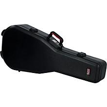 Gator TSA ATA Molded Acoustic Guitar Case Level 1 Black Black
