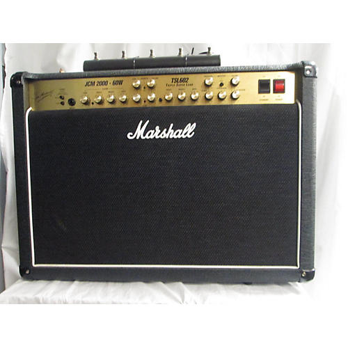 used marshall tsl602 60w 2x12 tube guitar combo amp guitar center. Black Bedroom Furniture Sets. Home Design Ideas